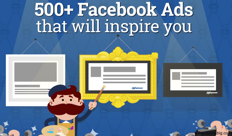 500 Mẫu quảng cáo Facebook thú vị
