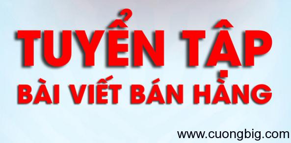 Ebook:Tuyển tập bài viết bán hàng – Tanh Tanh