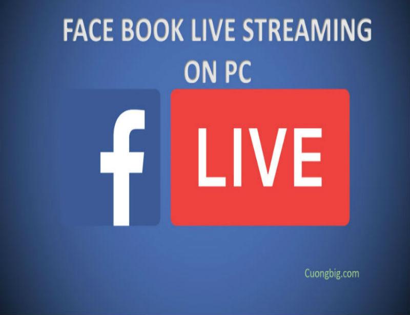 Tạo live stream Facebook từ máy tính